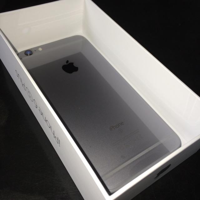 iPhone 6s Plus 開封の儀3